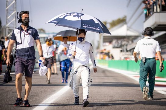 Yuki Tsunoda (JPN) AlphaTauri. 11.09.2021. Formula 1 World Championship, Rd 14, Italian Grand Prix, Monza, Italy, Sprint Day. - www.xpbimages.com, EMail: requests@xpbimages.com © Copyright: Bearne / XPB Images