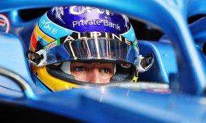 Fernando Alonso (ESP) Alpine F1 Team A521. 11.09.2021. Formula 1 World Championship, Rd 14, Italian Grand Prix, Monza