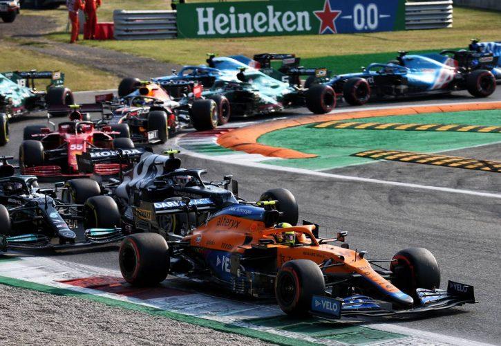 Lando Norris (GBR) McLaren MCL35M. 11.09.2021. Formula 1 World Championship, Rd 14, Italian Grand Prix, Monza
