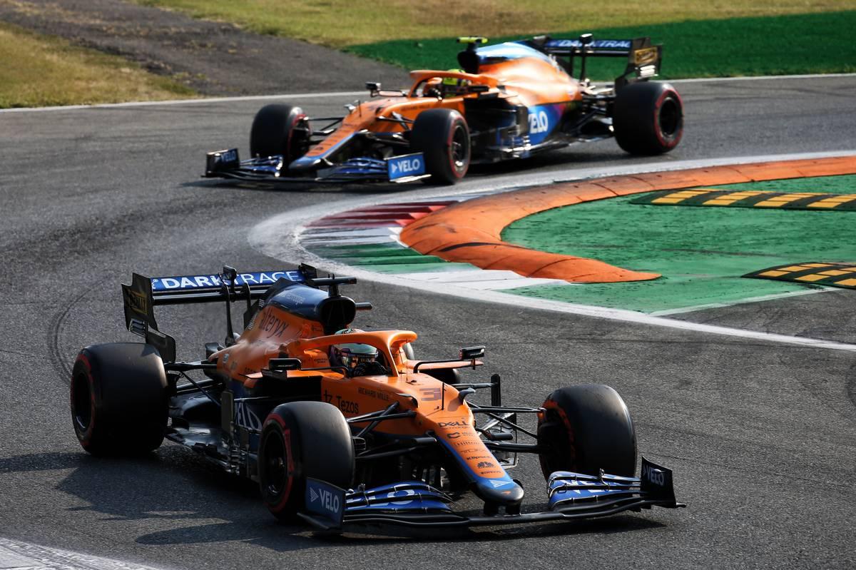 Daniel Ricciardo (AUS) McLaren MCL35M. 11.09.2021. Formula 1 World Championship, Rd 14, Italian Grand Prix, Monza