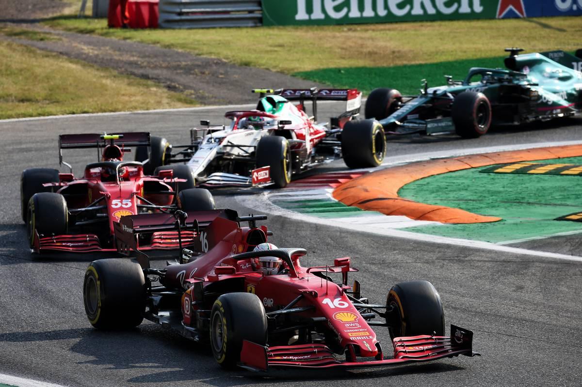 Charles Leclerc (MON) Ferrari SF-21. 11.09.2021. Formula 1 World Championship, Rd 14, Italian Grand Prix, Monza