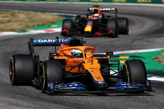 Daniel Ricciardo (AUS) McLaren MCL35M. 12.09.2021. Formula 1 World Championship, Rd 14, Italian Grand Prix, Monza, Italy, Race Day. - www.xpbimages.com, EMail: requests@xpbimages.com © Copyright: Charniaux / XPB Images