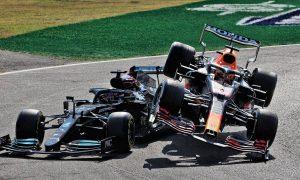 Verstappen and Hamilton collide at Monza!