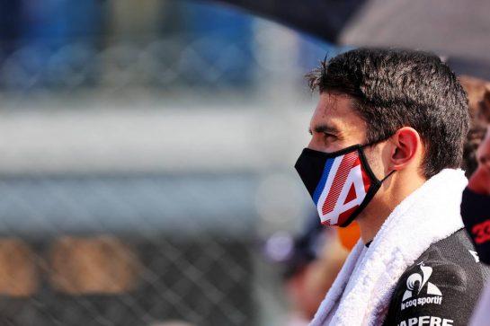 Esteban Ocon (FRA) Alpine F1 Team on the grid. 12.09.2021. Formula 1 World Championship, Rd 14, Italian Grand Prix, Monza, Italy, Race Day. - www.xpbimages.com, EMail: requests@xpbimages.com © Copyright: Charniaux / XPB Images