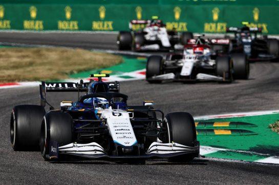 Nicholas Latifi (CDN) Williams Racing FW43B. 12.09.2021. Formula 1 World Championship, Rd 14, Italian Grand Prix, Monza, Italy, Race Day. - www.xpbimages.com, EMail: requests@xpbimages.com © Copyright: Charniaux / XPB Images