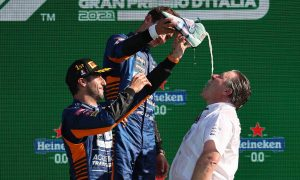 No shoey put-down for Zak Brown