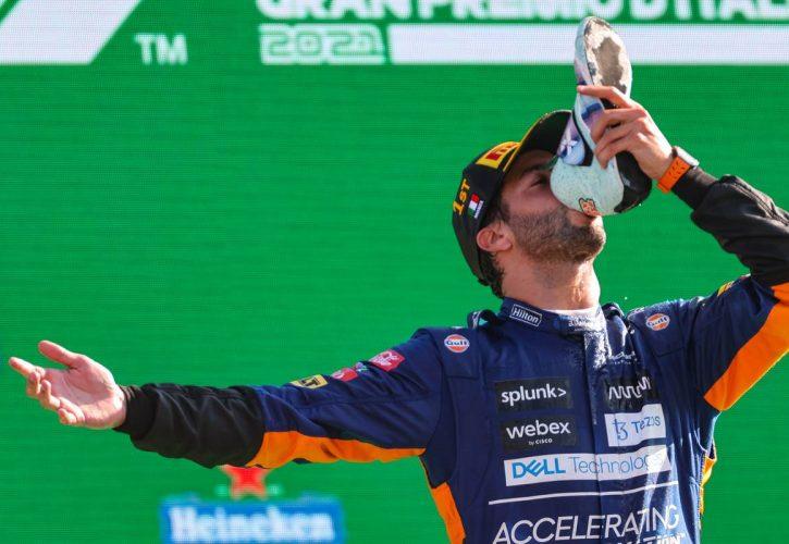 Daniel Ricciardo (AUS), McLaren F1 Team 12.09.2021. Formula 1 World Championship, Rd 14, Italian Grand Prix, Monza