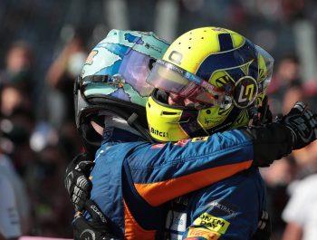 Ricciardo renaissance 'also good for me' says Norris