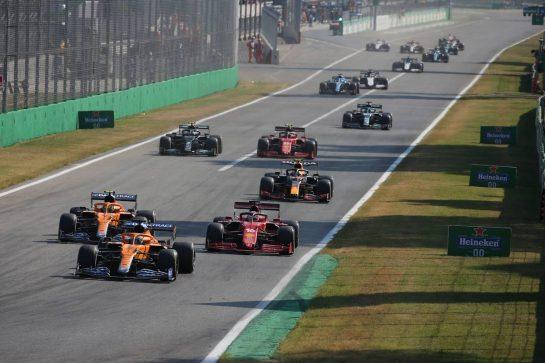 Daniel Ricciardo (AUS) McLaren MCL35M.12.09.2021. Formula 1 World Championship, Rd 14, Italian Grand Prix, Monza, Italy, Race Day.- www.xpbimages.com, EMail: requests@xpbimages.com © Copyright: XPB Images