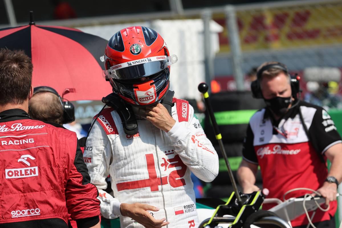 Robert Kubica (POL) Alfa Romeo Racing C39 Reserve Driver. 12.09.2021. Formula 1 World Championship, Rd 14, Italian Grand Prix, Monza