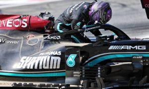 Marko mocks 'poor Hamilton' for 'putting on a show' after Monza crash