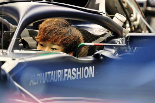 Yuki Tsunoda (JPN) AlphaTauri AT02. 23.09.2021. Formula 1 World Championship, Rd 15, Russian Grand Prix, Sochi Autodrom, Sochi, Russia, Preparation Day. - www.xpbimages.com, EMail: requests@xpbimages.com © Copyright: Moy / XPB Images