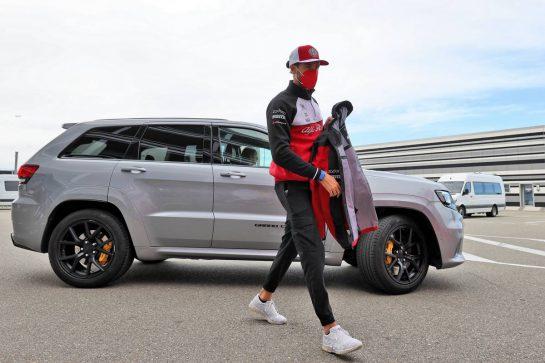 Antonio Giovinazzi (ITA) Alfa Romeo Racing. 24.09.2021. Formula 1 World Championship, Rd 15, Russian Grand Prix, Sochi Autodrom, Sochi, Russia, Practice Day. - www.xpbimages.com, EMail: requests@xpbimages.com © Copyright: Moy / XPB Images