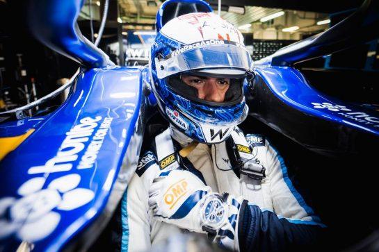 Nicholas Latifi (CDN) Williams Racing FW43B. 24.09.2021. Formula 1 World Championship, Rd 15, Russian Grand Prix, Sochi Autodrom, Sochi, Russia, Practice Day. - www.xpbimages.com, EMail: requests@xpbimages.com © Copyright: Bearne / XPB Images