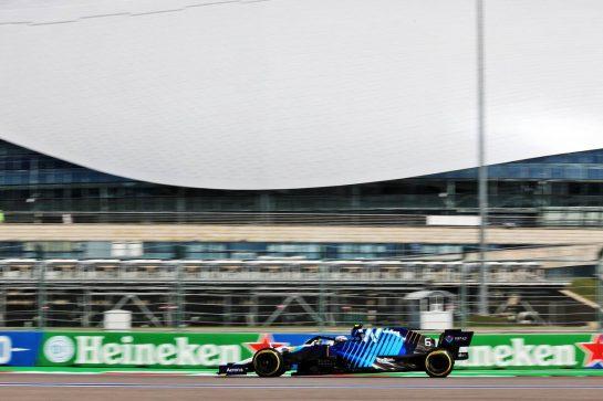 Nicholas Latifi (CDN) Williams Racing FW43B. 24.09.2021. Formula 1 World Championship, Rd 15, Russian Grand Prix, Sochi Autodrom, Sochi, Russia, Practice Day. - www.xpbimages.com, EMail: requests@xpbimages.com © Copyright: Batchelor / XPB Images