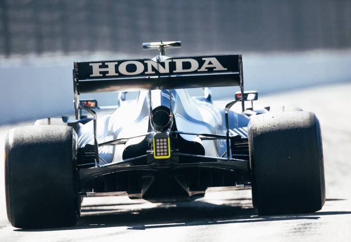 Pierre Gasly (FRA) AlphaTauri AT02. 24.09.2021. Formula 1 World Championship, Rd 15, Russian Grand Prix, Sochi