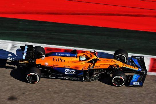 Daniel Ricciardo (AUS) McLaren MCL35M. 24.09.2021. Formula 1 World Championship, Rd 15, Russian Grand Prix, Sochi Autodrom, Sochi, Russia, Practice Day. - www.xpbimages.com, EMail: requests@xpbimages.com © Copyright: Batchelor / XPB Images