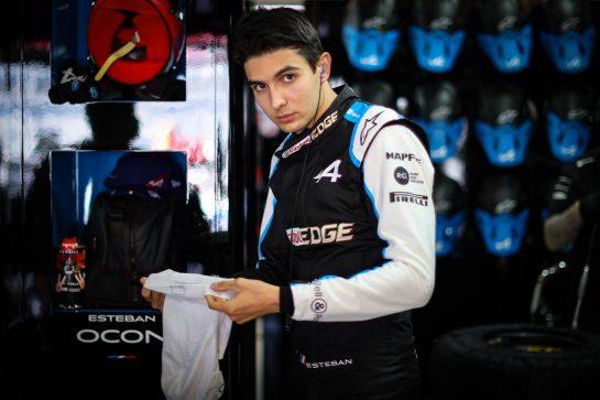 Esteban Ocon (FRA) Alpine F1 Team. 24.09.2021. Formula 1 World Championship, Rd 15, Russian Grand Prix, Sochi Autodrom, Sochi, Russia, Practice Day. - www.xpbimages.com, EMail: requests@xpbimages.com © Copyright: Charniaux / XPB Images