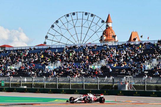 Kimi Raikkonen (FIN) Alfa Romeo Racing C41. 24.09.2021. Formula 1 World Championship, Rd 15, Russian Grand Prix, Sochi Autodrom, Sochi, Russia, Practice Day. - www.xpbimages.com, EMail: requests@xpbimages.com © Copyright: Moy / XPB Images