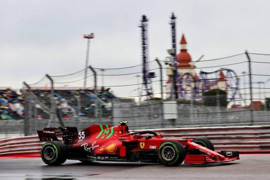 Carlos Sainz Jr (ESP) Ferrari SF-21. 25.09.2021. Formula 1 World Championship, Rd 15, Russian Grand Prix, Sochi Autodrom, Sochi, Russia, Qualifying Day. - www.xpbimages.com, EMail: requests@xpbimages.com © Copyright: Batchelor / XPB Images