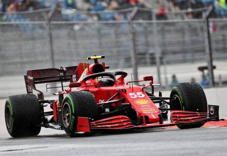 Carlos Sainz Jr (ESP) Ferrari SF-21. 25.09.2021. Formula 1 World Championship, Rd 15, Russian Grand Prix, Sochi Autodrom, Sochi
