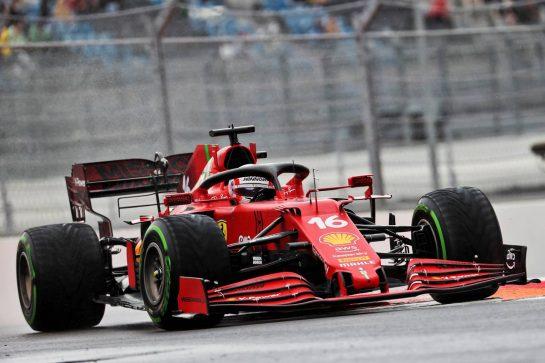 Charles Leclerc (MON) Ferrari SF-21. 25.09.2021. Formula 1 World Championship, Rd 15, Russian Grand Prix, Sochi Autodrom, Sochi, Russia, Qualifying Day. - www.xpbimages.com, EMail: requests@xpbimages.com © Copyright: Batchelor / XPB Images