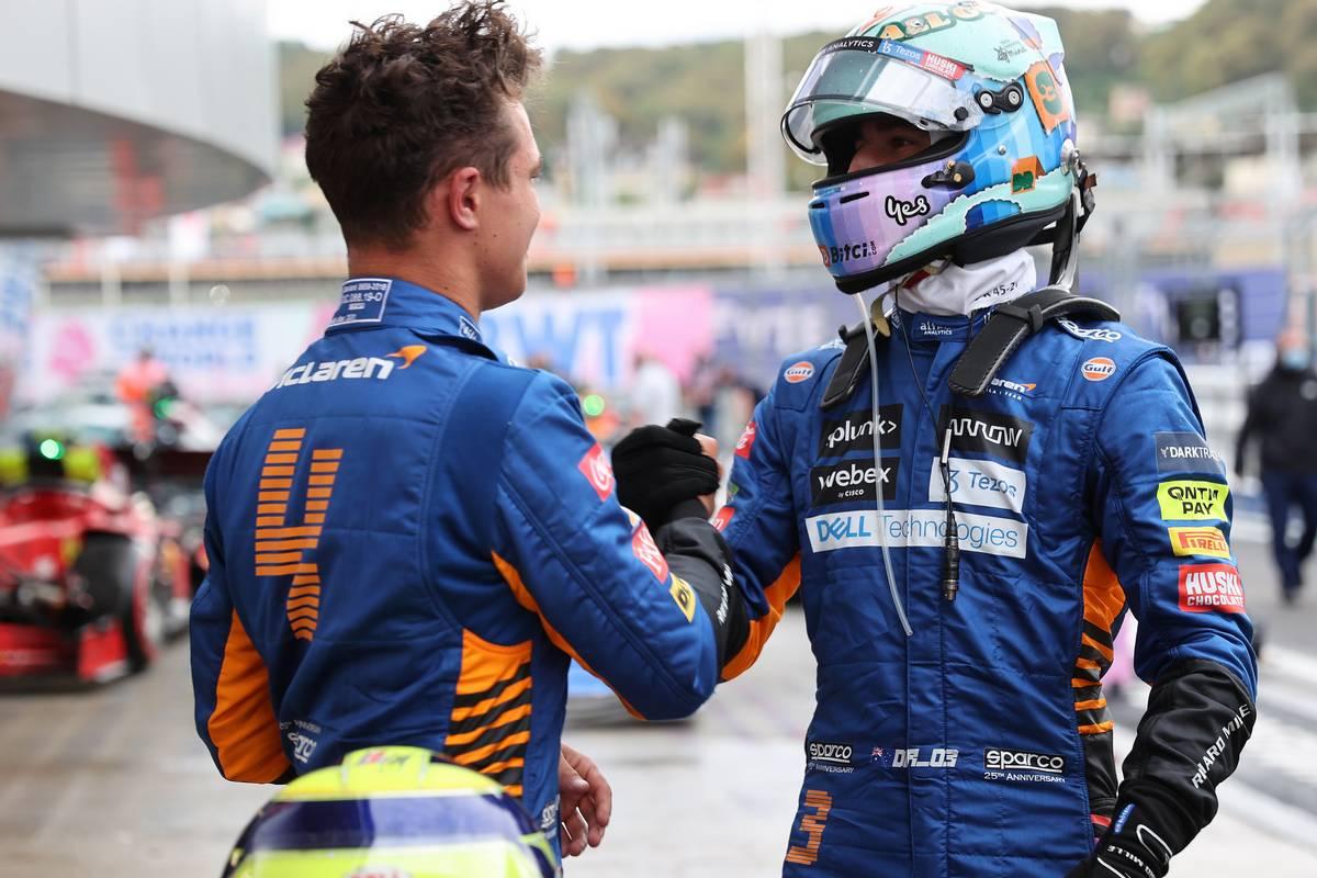 Ricciardo and McLaren reprimanded for impeding Stroll in Q1