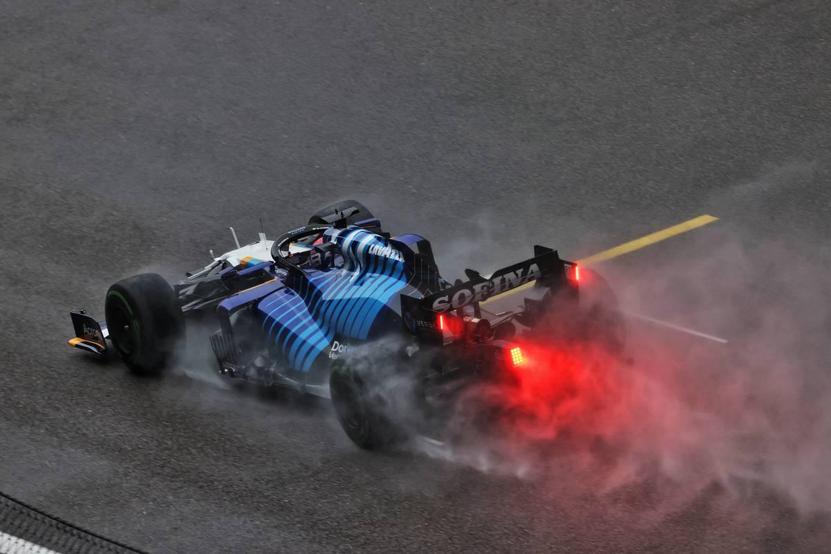 George Russell (GBR) Williams Racing FW43B. 25.09.2021. Formula 1 World Championship, Rd 15, Russian Grand Prix, Sochi