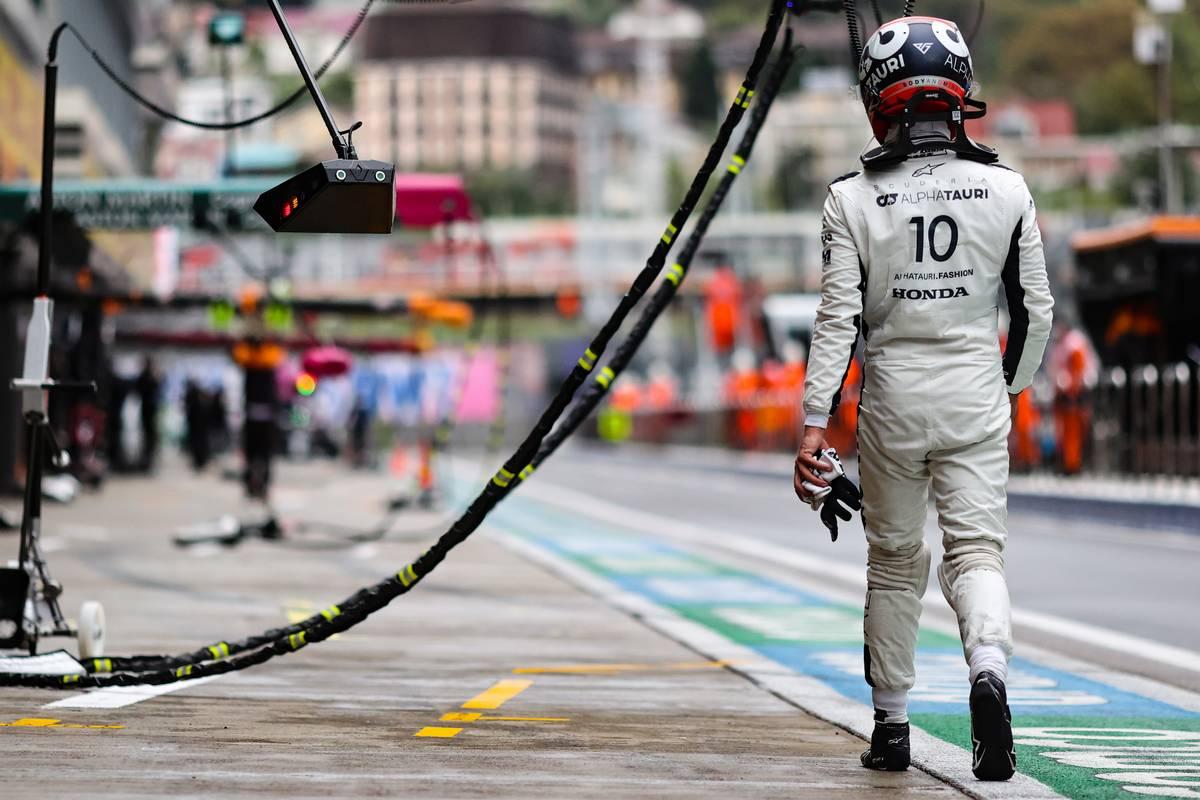 Pierre Gasly (FRA) AlphaTauri. 25.09.2021. Formula 1 World Championship, Rd 15, Russian Grand Prix, Sochi