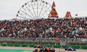Sergio Perez (MEX) Red Bull Racing RB16B. 26.09.2021. Formula 1 World Championship, Rd 15, Russian Grand Prix, Sochi