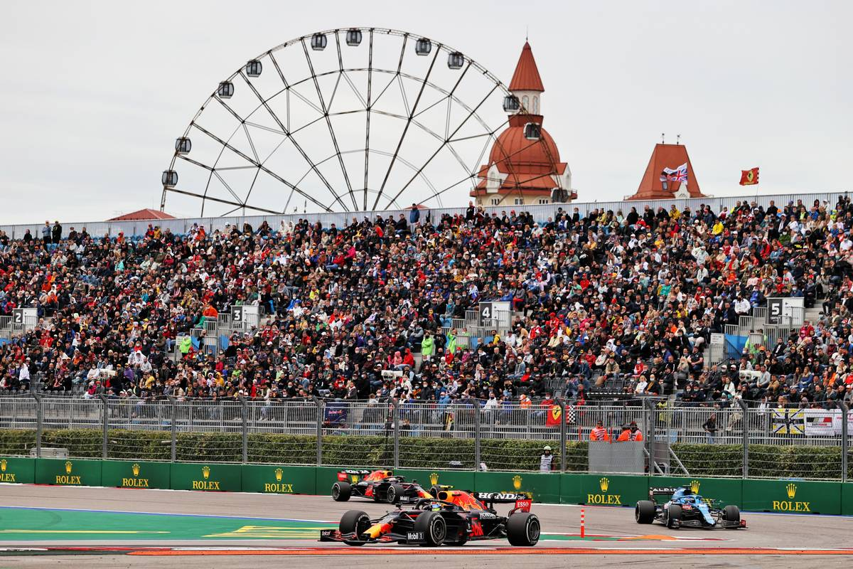2021 Russian Grand Prix - Race results