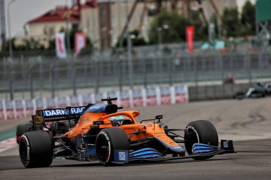 Daniel Ricciardo (AUS) McLaren MCL35M. 26.09.2021. Formula 1 World Championship, Rd 15, Russian Grand Prix, Sochi Autodrom, Sochi, Russia, Race Day. - www.xpbimages.com, EMail: requests@xpbimages.com © Copyright: Batchelor / XPB Images