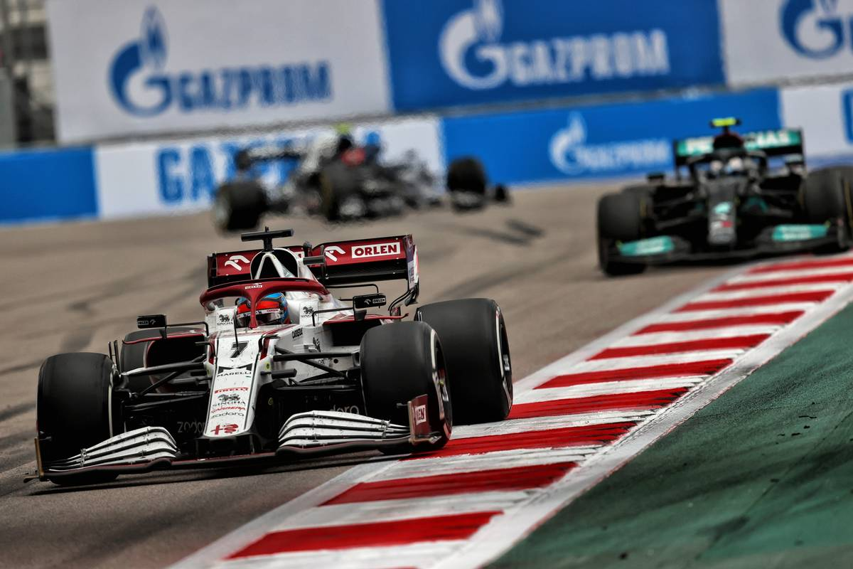 Kimi Raikkonen (FIN) Alfa Romeo Racing C41. 26.09.2021. Formula 1 World Championship, Rd 15, Russian Grand Prix, Sochi Autodrom, Sochi