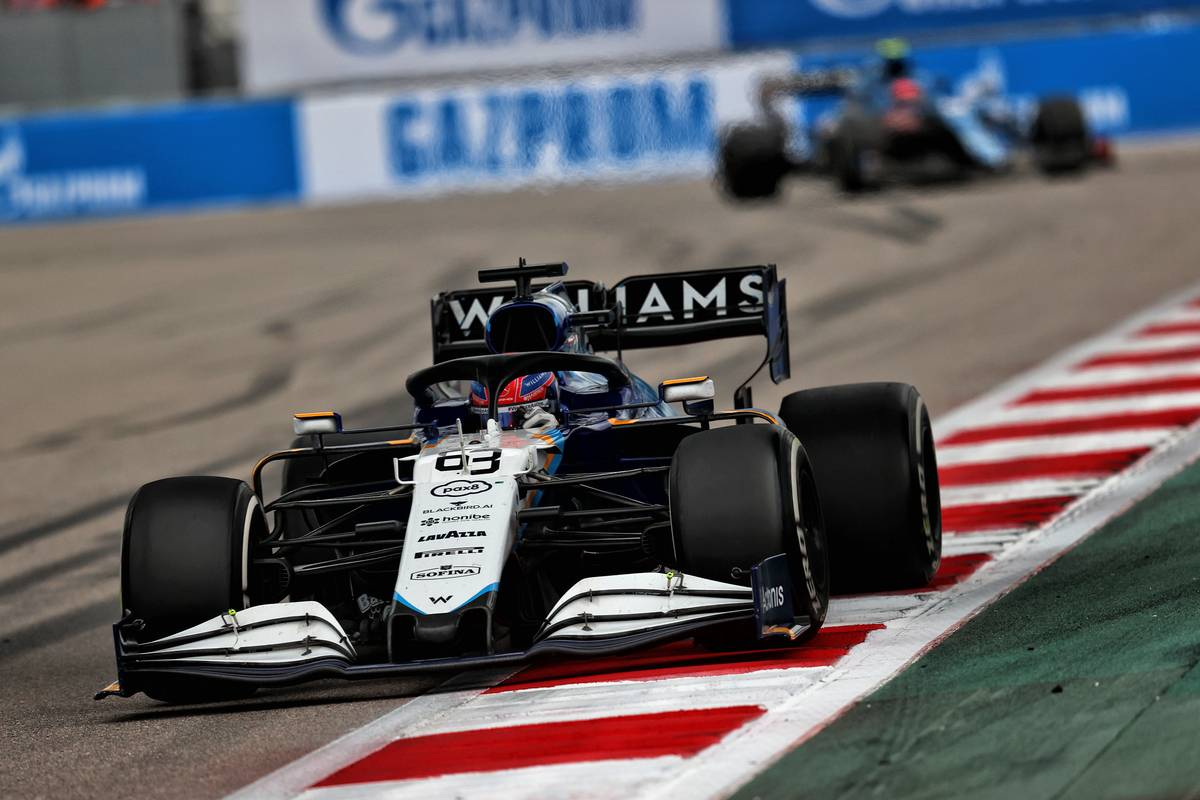 Russell: P10 is where Williams 'deserved to finish' Russian GP