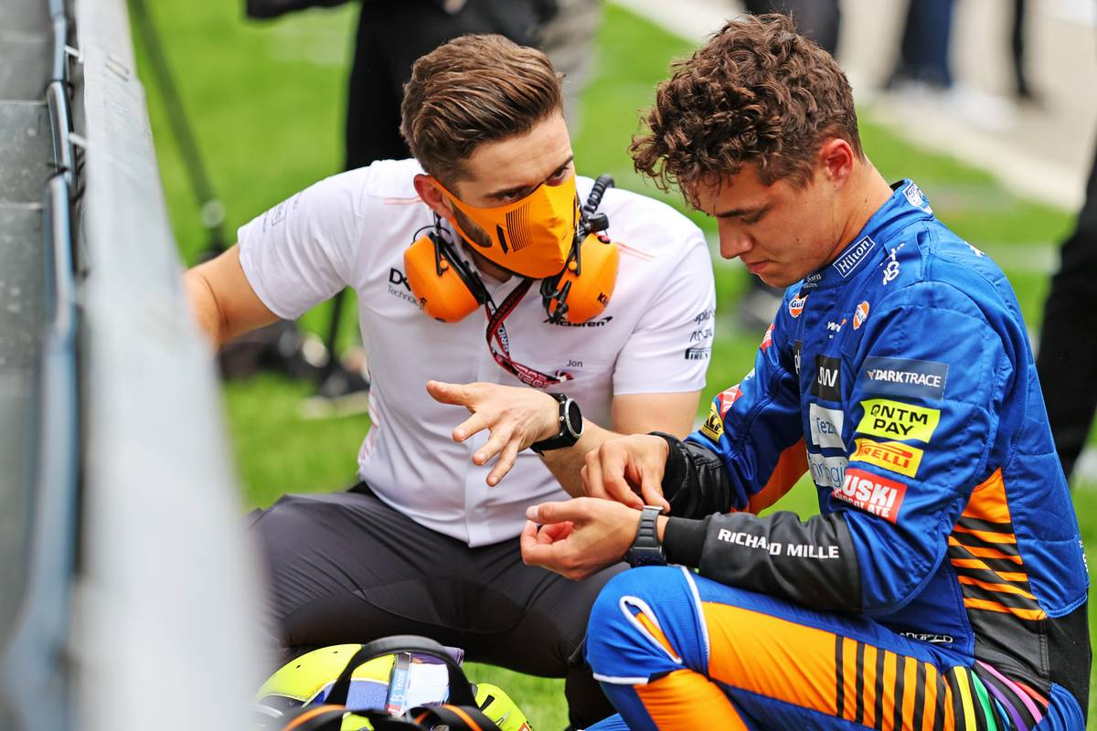 Seidl: McLaren team equally to blame for Norris tyre call