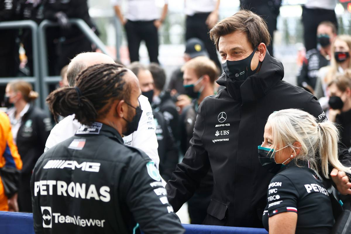 Wolff explains why Mercedes pit wall overruled Hamilton