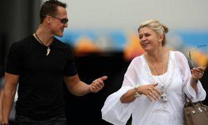 Corinna Schumacher: 'Michael is here, different, but here'