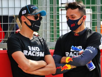 Albon owes Russell 'a couple of beers' for Williams push