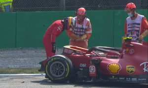 Sainz seatbelt stretch at Monza under scrutiny by FIA