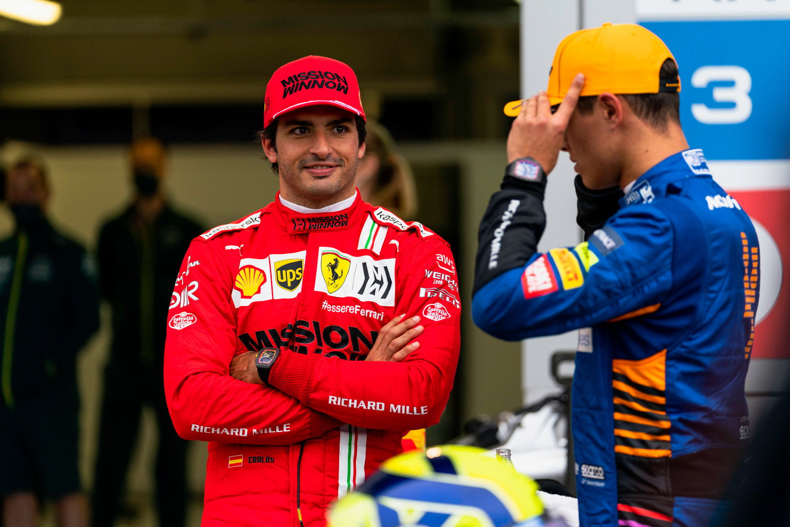 Sainz hopes to work with Norris to 'pull away' in Sochi