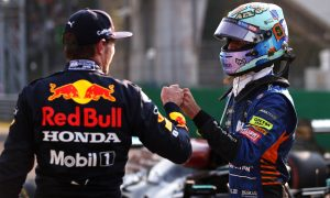 """""""It's been a long time"""", says Ricciardo of front row spot"""