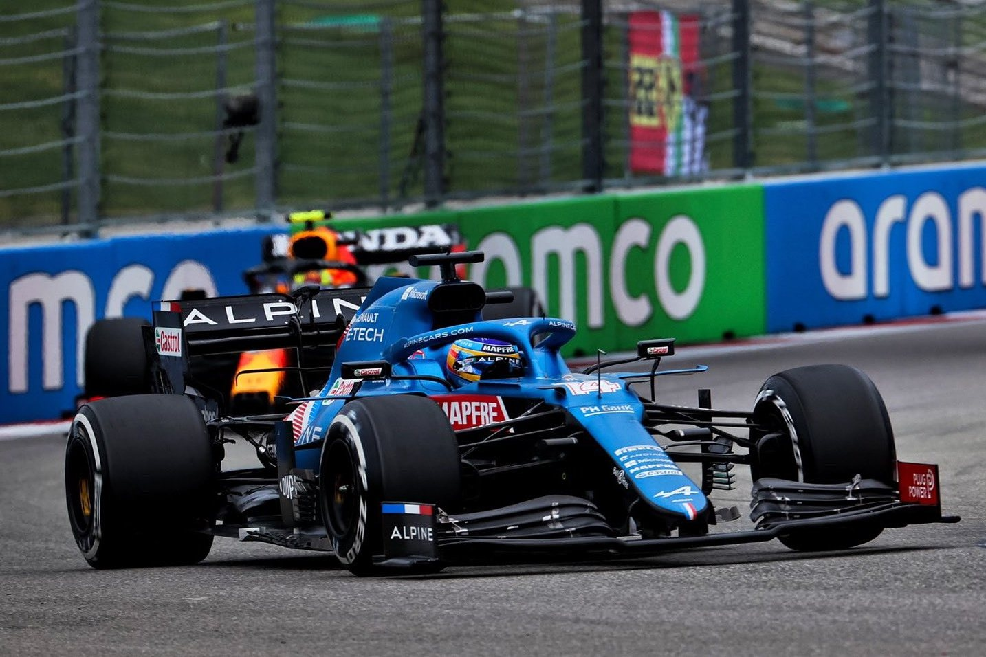 Alonso says Alpine 'execution' deserved Russian GP podium