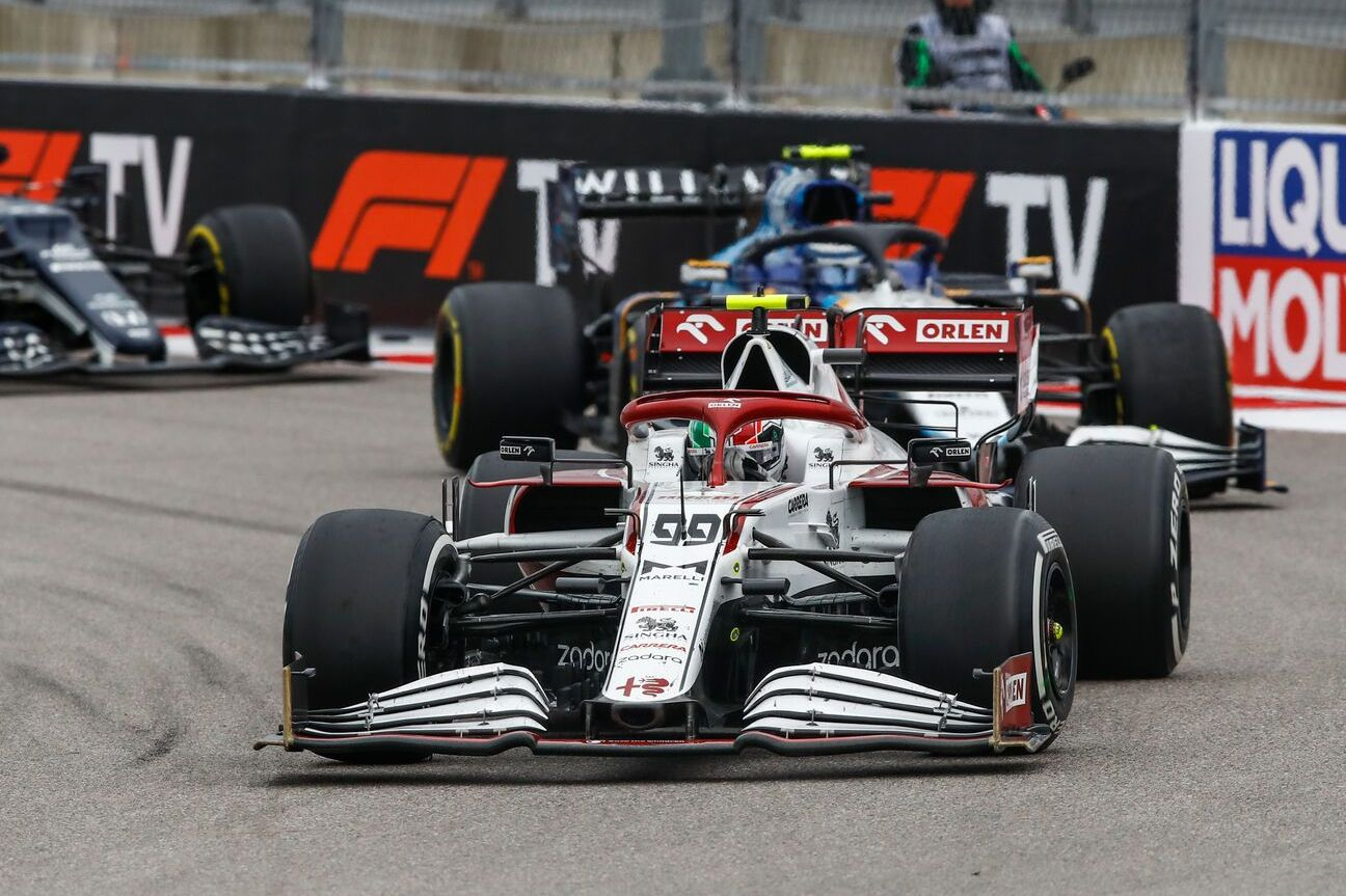 Giovinazzi: Russian GP 'a mess' due to radio failure