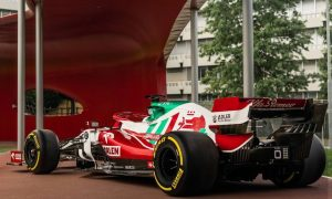 Alfa Romeo rolls out special livery for Italian GP