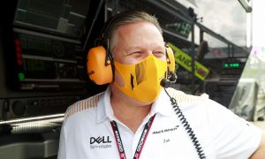 McLaren's Brown hopes F1 will loosen Covid paddock rules