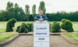 Williams takes hold of its own 'climate positive' destiny