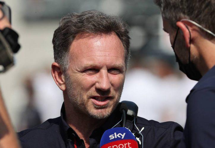 Christian Horner (GBR) Red Bull Racing Team Principal. 12.09.2021. Formula 1 World Championship, Rd 14, Italian Grand Prix, Monza