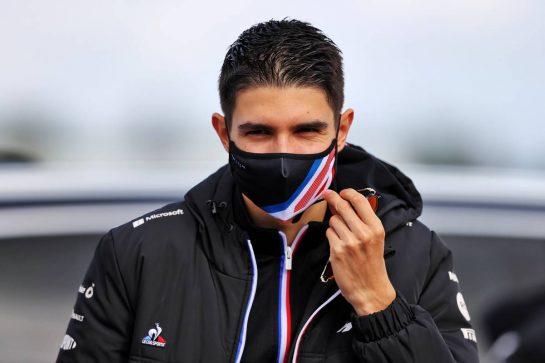 Esteban Ocon (FRA) Alpine F1 Team. 07.10.2021. Formula 1 World Championship, Rd 16, Turkish Grand Prix, Istanbul, Turkey, Preparation Day. - www.xpbimages.com, EMail: requests@xpbimages.com © Copyright: Moy / XPB Images