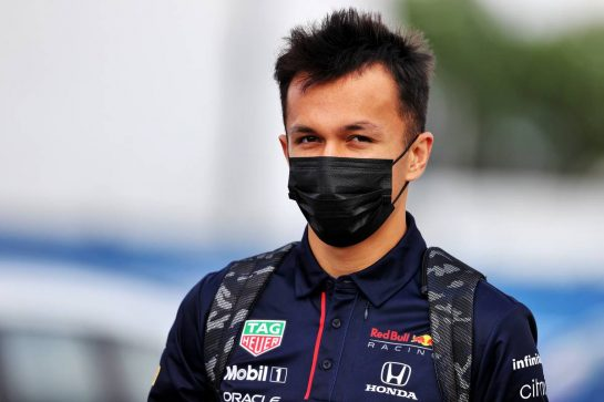 Alexander Albon (THA) Red Bull Racing Reserve and Development Driver. 07.10.2021. Formula 1 World Championship, Rd 16, Turkish Grand Prix, Istanbul, Turkey, Preparation Day. - www.xpbimages.com, EMail: requests@xpbimages.com © Copyright: Moy / XPB Images
