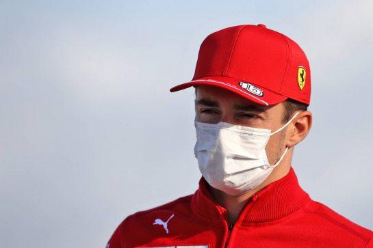 Charles Leclerc (MON) Ferrari. 08.10.2021 Formula 1 World Championship, Rd 16, Turkish Grand Prix, Istanbul, Turkey, Practice Day. - www.xpbimages.com, EMail: requests@xpbimages.com © Copyright: Moy / XPB Images
